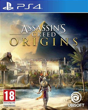 Jogo Assassin's Creed Origins - Edição Limitada - PS4
