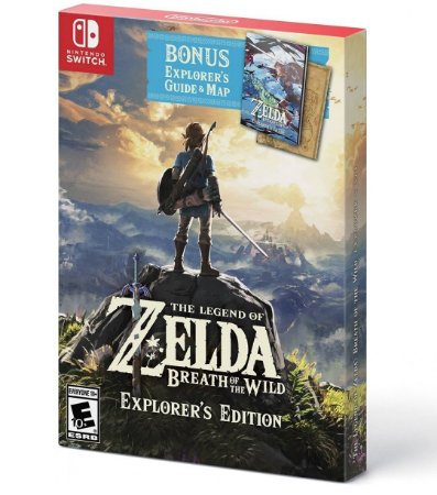 The Legend Of Zelda Breath Of The Wild - Explorer Edition - Nintendo Switch