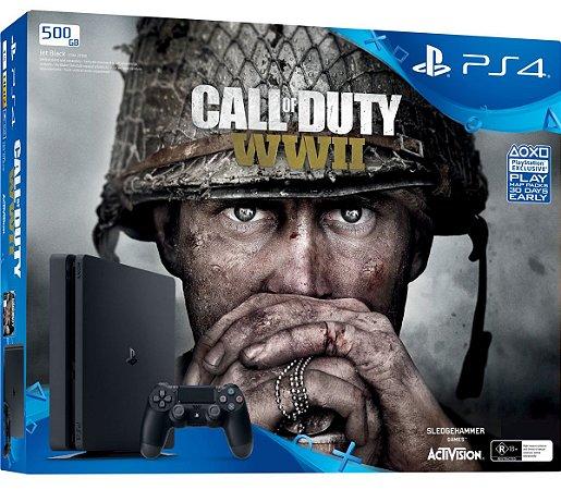 Console PlayStation 4 Slim 500 GB + Call Of Duty WW2 - Sony