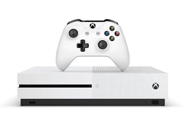 Console Xbox One s 4K 500 Gb - Microsoft - (Seminovo)