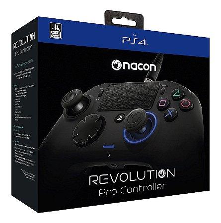 Controle Revolution Pro Nacon para Playstation 4 - Preto