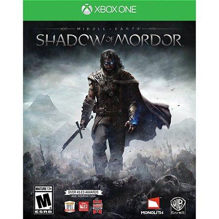 Terra-Média - Sombras de Mordor - Seminovo - Xbox One