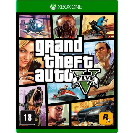GTA - Grand Theft Auto V - Xbox One