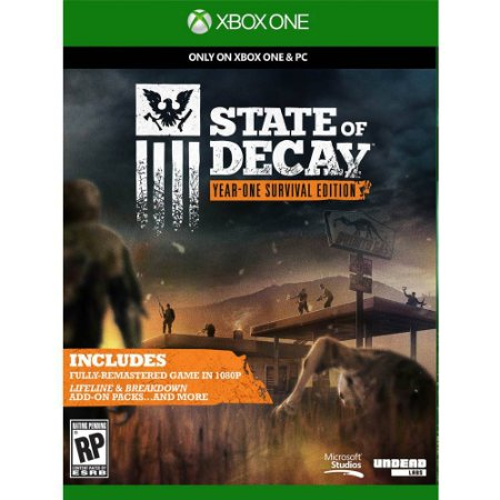 State Of Decay - Year One Survival - Day One Edition - Seminovo - Xbox One
