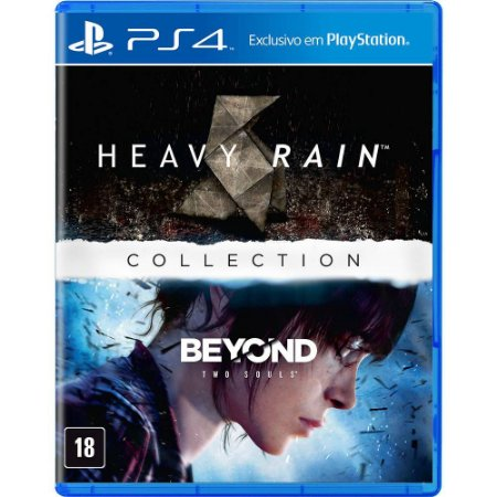 The Heavy Rain & Beyond Two Souls Collection (Seminovo) - PS4