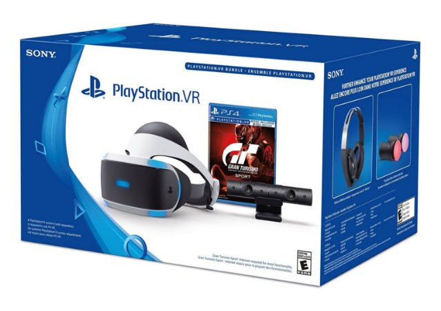PlayStation VR Gran Turismo Sport Bundle - PS4 VR
