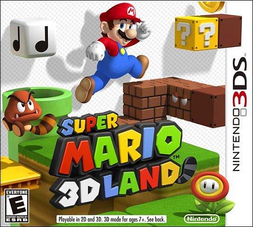 Super Mario 3D Land (Seminovo) - 3Ds