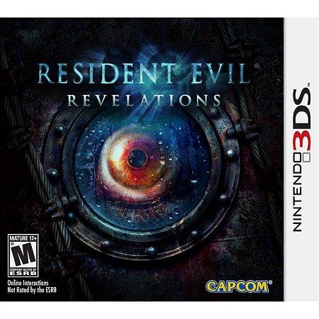 Resident Evil Revelations (Seminovo) - 3DS