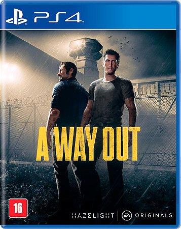 A Way Out (Seminovo) - PS4
