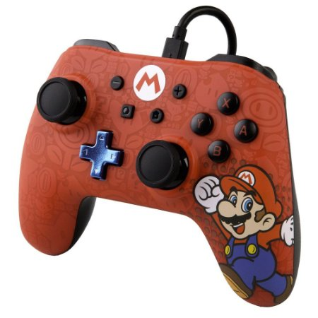 Controle Power A Super Mario - Nintendo Switch