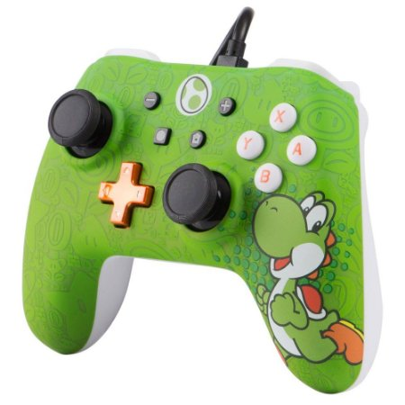 Controle Power A Yoshi - Nintendo Switch