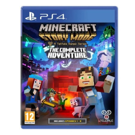 Minecraft - Story Mode - The Complete Adventure - PS4