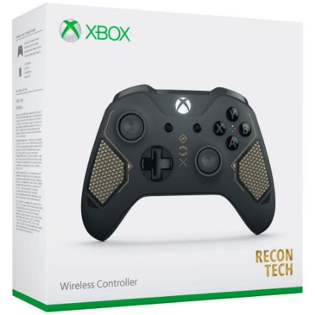 Controle Xbox One S Recon Tech - Microsoft