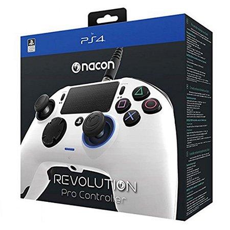 Controle Revolution Pro Nacon para Playstation 4 - Branco