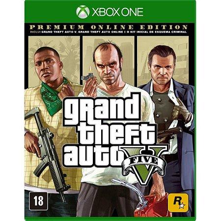 GTA V - Premium Online Edition - Xbox One
