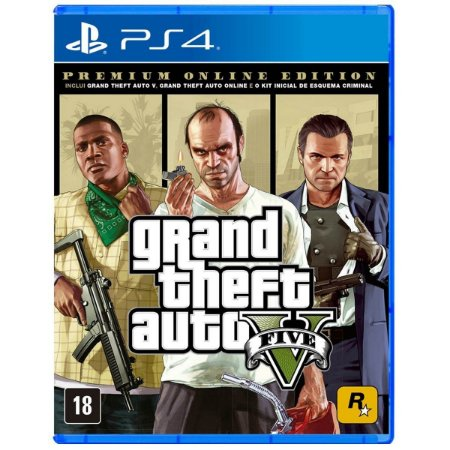 GTA V - Premium Online Edition - PS4