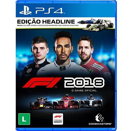 F1 2018 - Edição Headline - PS4
