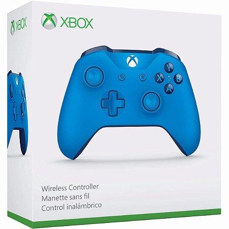 Controle Xbox One S Azul - Microsoft