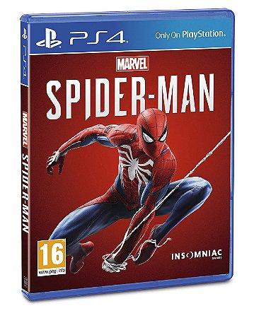 Spider Man Homem Aranha (Seminovo) - Ps4