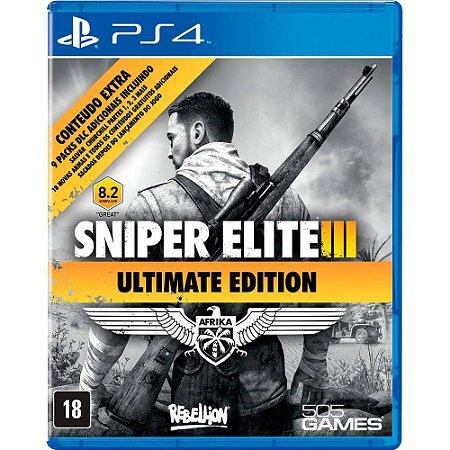 Sniper Elite 3: Ultimate Edition (Seminovo) - PS4