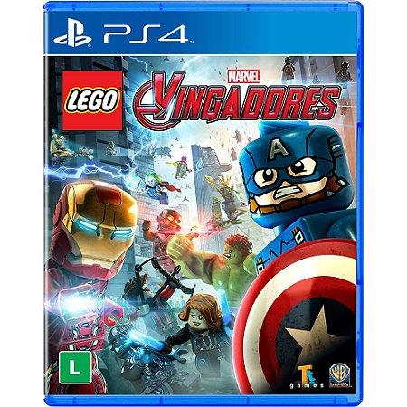 Lego Marvel Vingadores (Seminovo) - PS4
