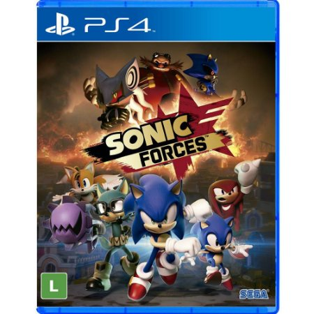 Sonic Forces (Seminovo) - PS4