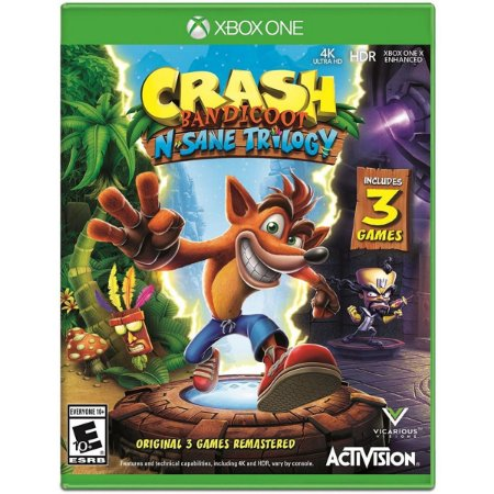 Crash Bandicoot N' Sane Trilogy (Seminovo) - Xbox One