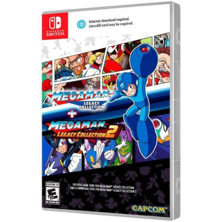 Mega Man Legacy Collection + Mega Man Legacy Collection 2 - Switch