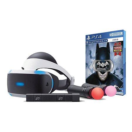 PlayStation VR Bundle - Completo (Seminovo) - PS4 - Sony