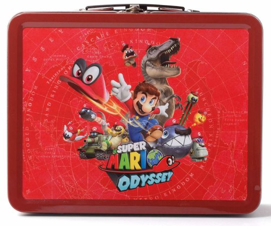 Kit Lunch Box Super Mario Odyssey Edition - Switch