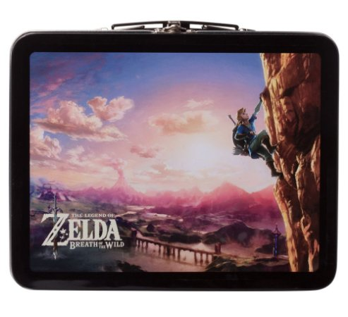Kit Lunch Box Zelda Breath Of The Wild Edition - Switch