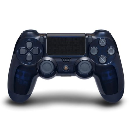 Controle Dualshock 4 para Playstation 4 PS4 Edição Especial 500 Milhões Azul - Sony