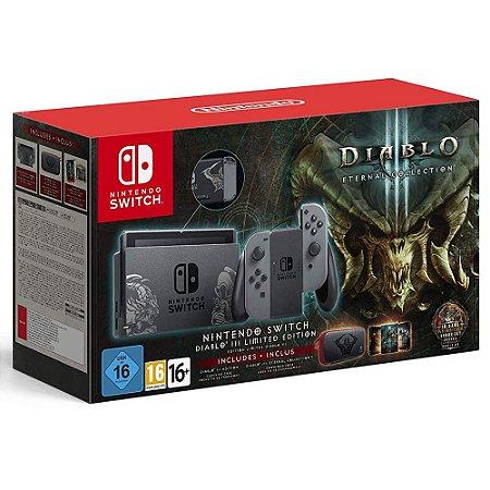 Console Nintendo Switch Diablo 3 Eternal Collection Bundle - Switch
