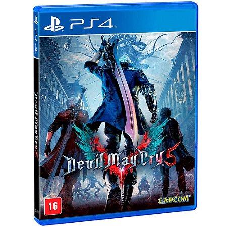 Devil May Cry V 5 (Seminovo) - PS4