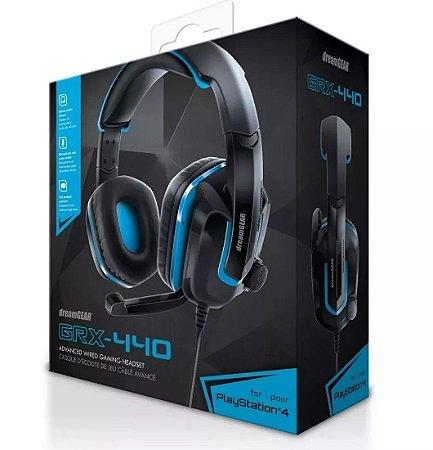Headset GRX 440 Azul Xbox One Ps4 Switch