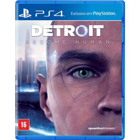 Detroit Become Human (Seminovo) - PS4