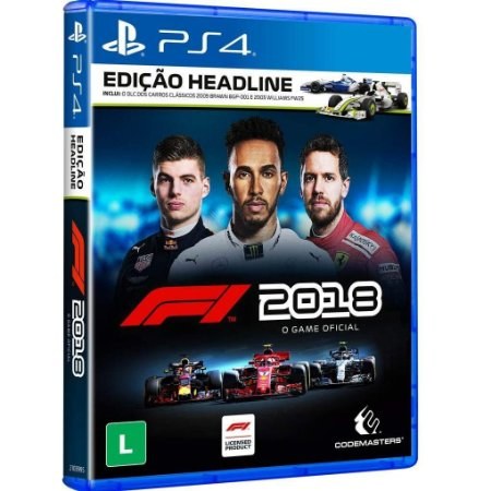 F1 2018 (Seminovo) - PS4