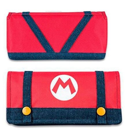 Case de Tecido Pouch Mario M - Nintendo Switch