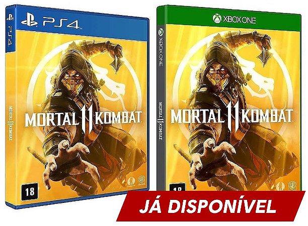 Mortal Kombat 11 - Já Disponível - Xbox One - Ps4