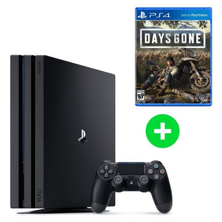 Console PlayStation 4 Pro 4k 1 Tera + Days Gone (Lançamento) - Sony