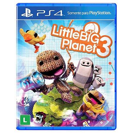 Little Big Planet 3 (Seminovo) - PS4