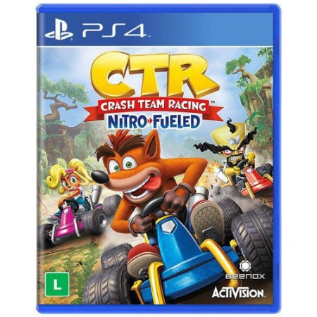 Crash Team Racing Nitro-Fueled - PRONTA ENTREGA - PS4