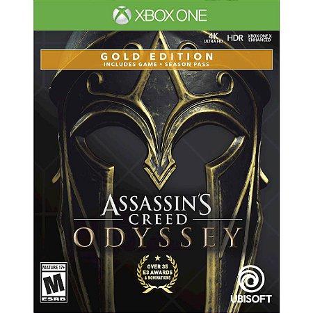 Assassins Creed Odyssey Steelbook (Seminovo) - Xbox  One