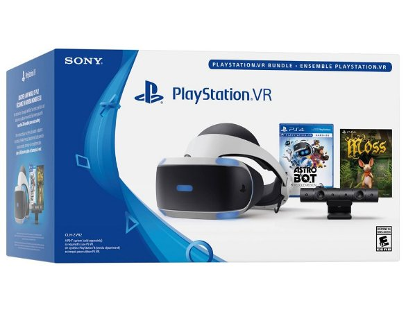 PlayStation VR Bundle - Modelo Novo - Astro Bot - Moss - CUH-ZVR2 - PS4 - Sony