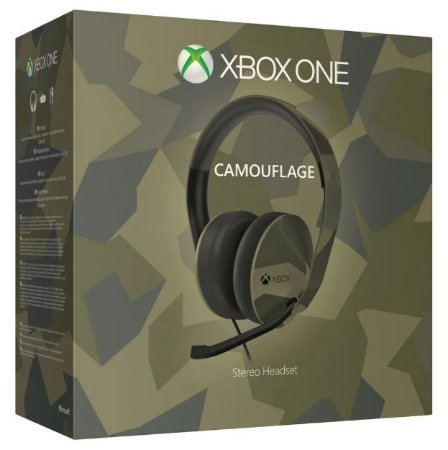 Headset Xbox One Stereo Armed Forces - SEMINOVO - Microsoft