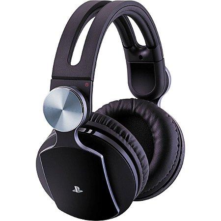 Headset Pulse 7.1 Preto Para Ps4 - SEMINOVO - Sony