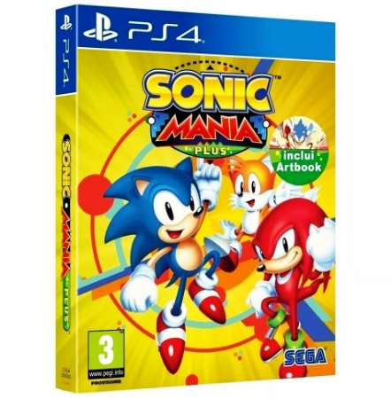 Sonic Mania Plus (Seminovo) - PS4