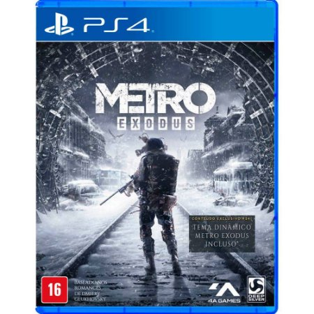 Metro Exodus (Seminovo) - PS4