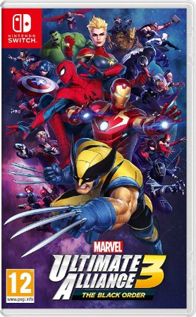 Marvel Ultimate Alliance 3: The Black Order (Seminovo) - Switch