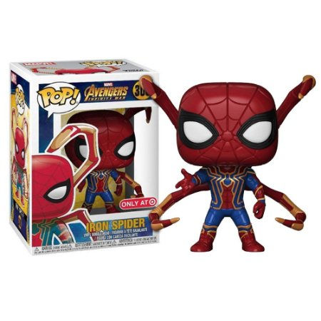 Funko Pop! Movies - Avengers Infinity War - Iron Spider Special Edition #300